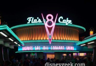 Flo's V8 Cafe #CarsLand