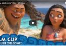 "Moana – Dwayne Johnson singing ""You're Welcome"" (Video Clip)"