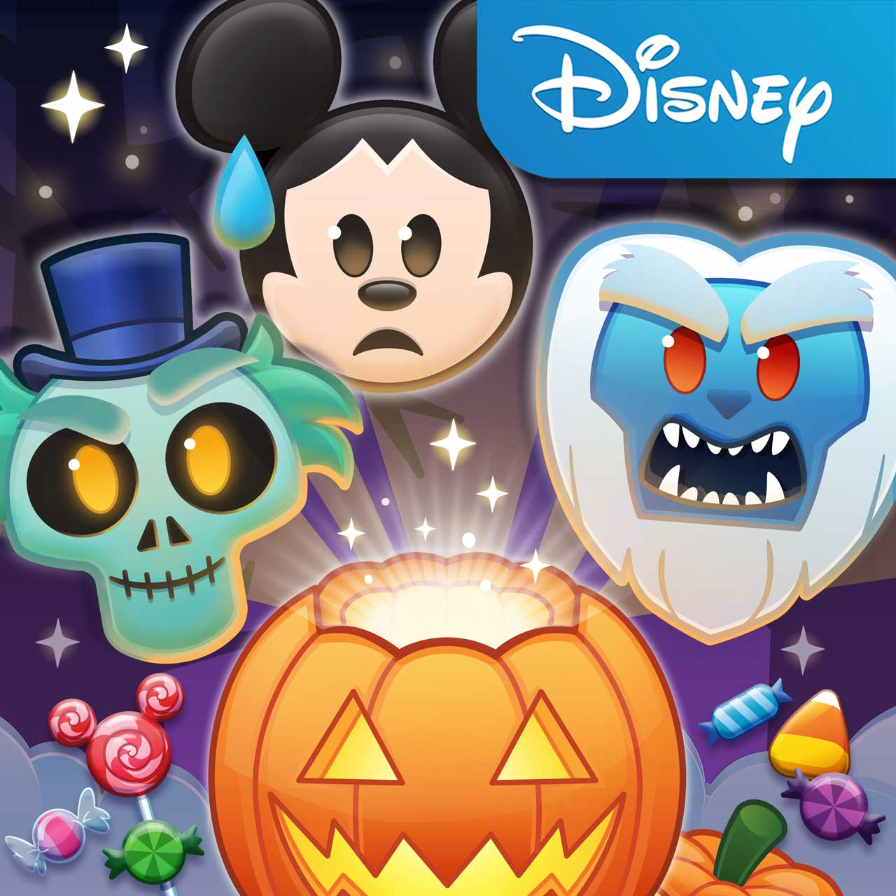 Halloween-Themed Emojis and Items and Emoji Stickers for iMessage