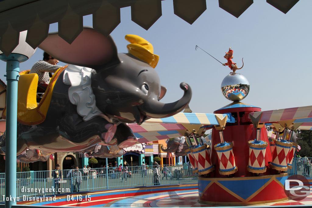 Tokyo Disneyland Dumbo