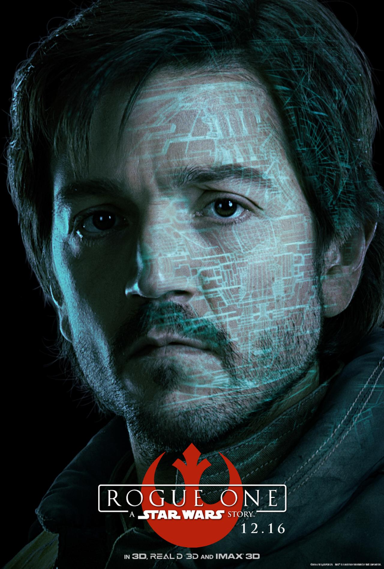 Rogue One: A Star Wars Story - Captain Cassian Andor (Diego Luna)