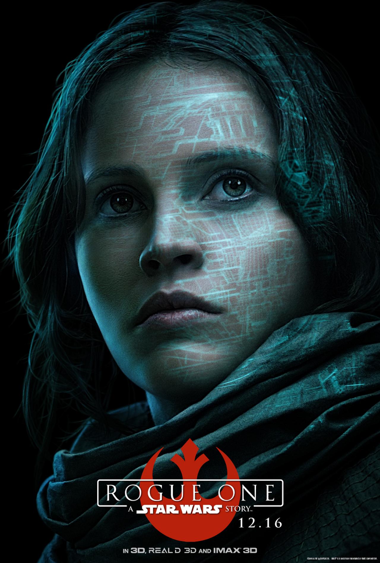 Rogue One: A Star Wars Story - Jyn Erso (Felicity Jones)