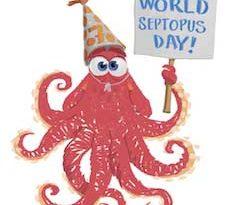 Celebrate World Septopus Day on Oct. 7