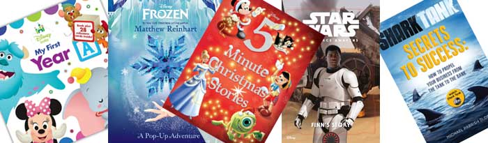 Disney Publishing Book List