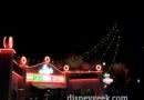 Luigi has his Christmas Lights on tonight in #CarsLand