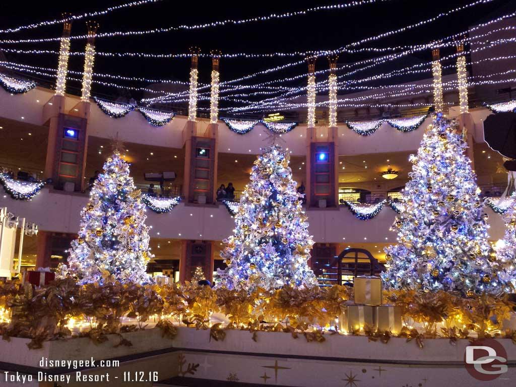 Tokyo Disney Resort - Christmas Trees at Ikspiari