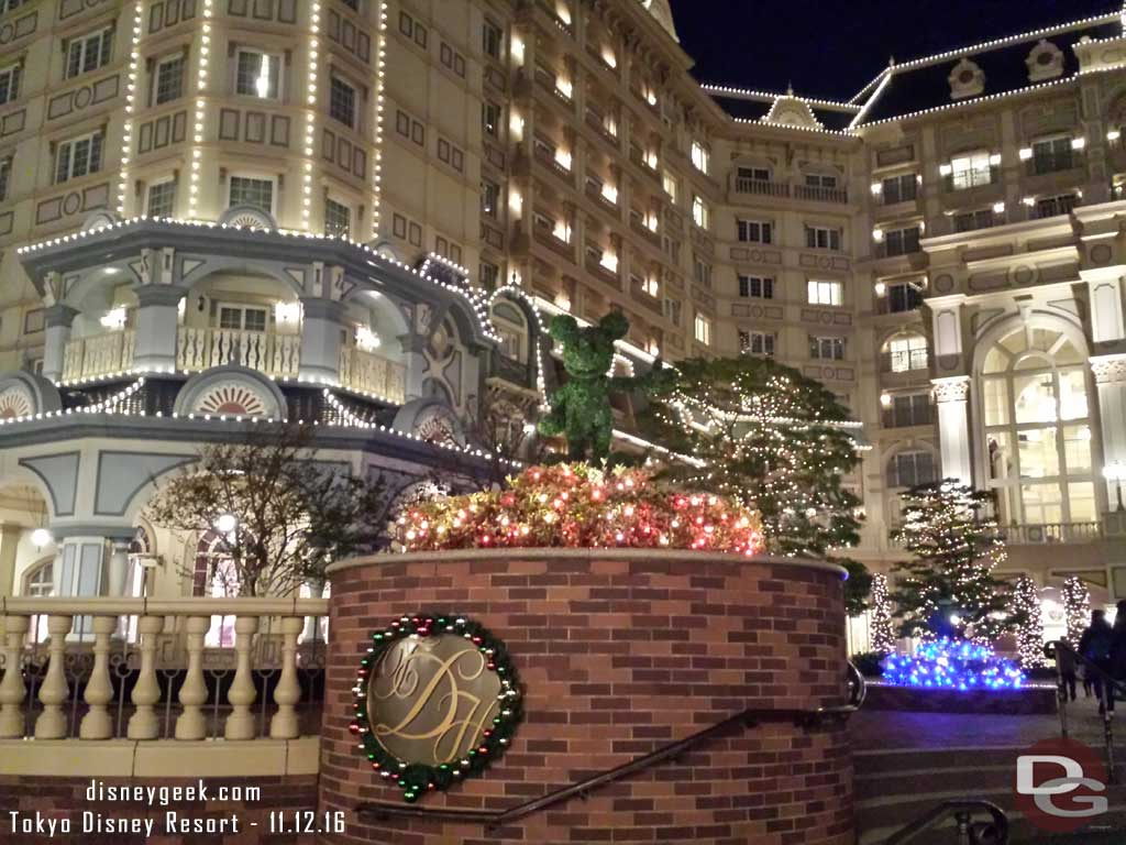 Tokyo Day 1: A quick look around the Tokyo Disney Resort