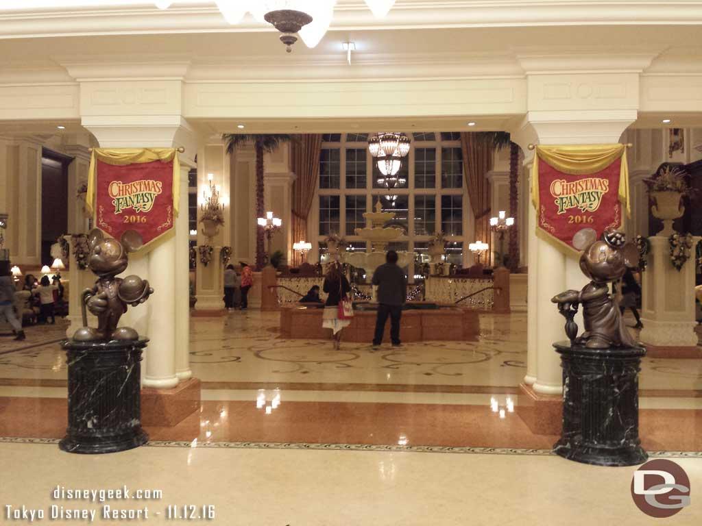 Tokyo Disney Resort - Disneyland Hotel Entrance