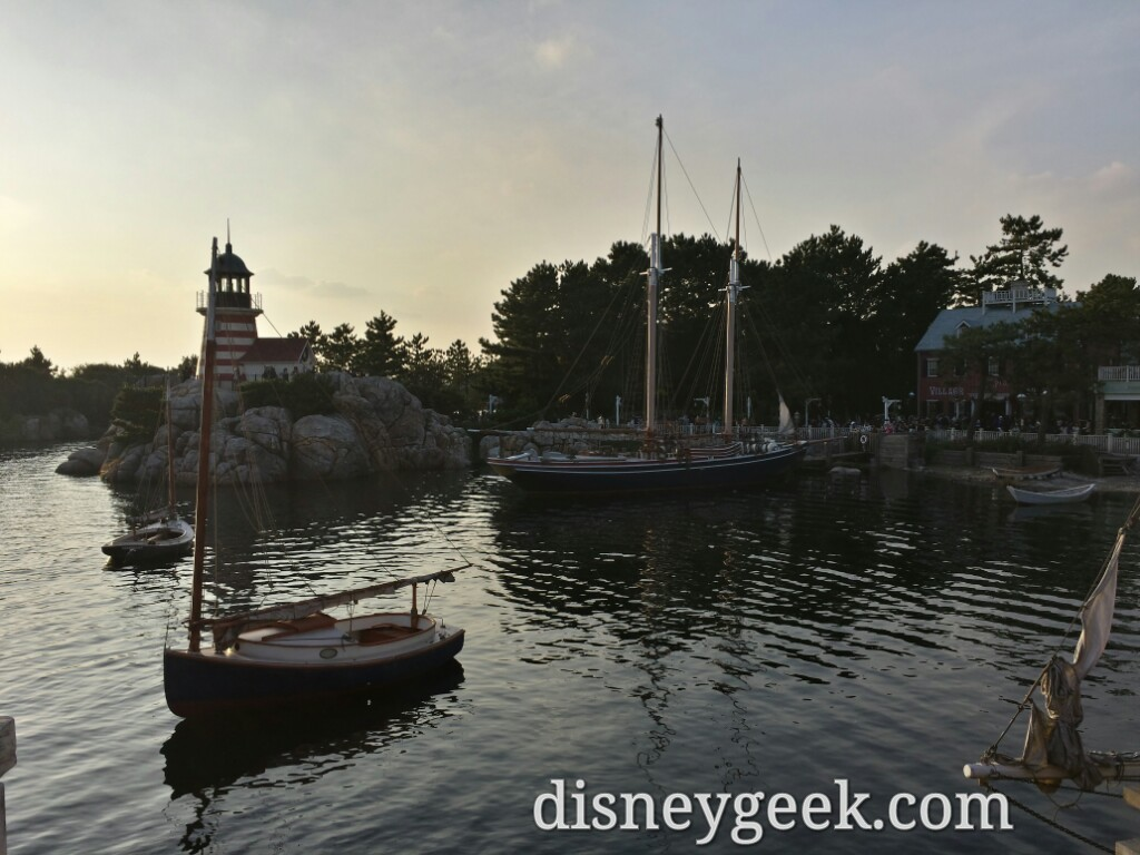 Tokyo DisneySea - Cape Cod area of the American Waterfront