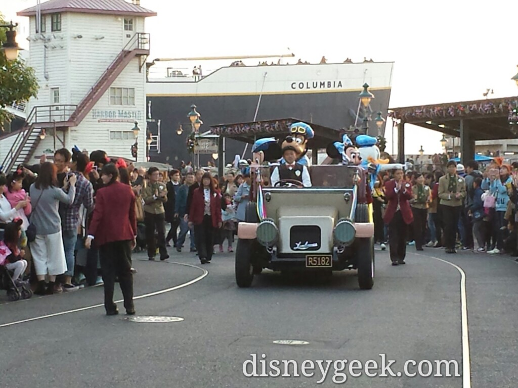 "Tokyo DisneySea -""The Year of Wishes"" Greeting Drive approaching"