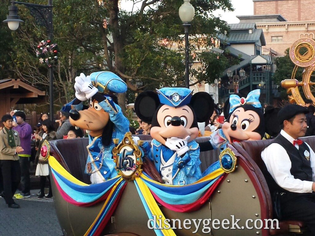 "Tokyo DisneySea - ""The Year of Wishes"" Greeting Drive"