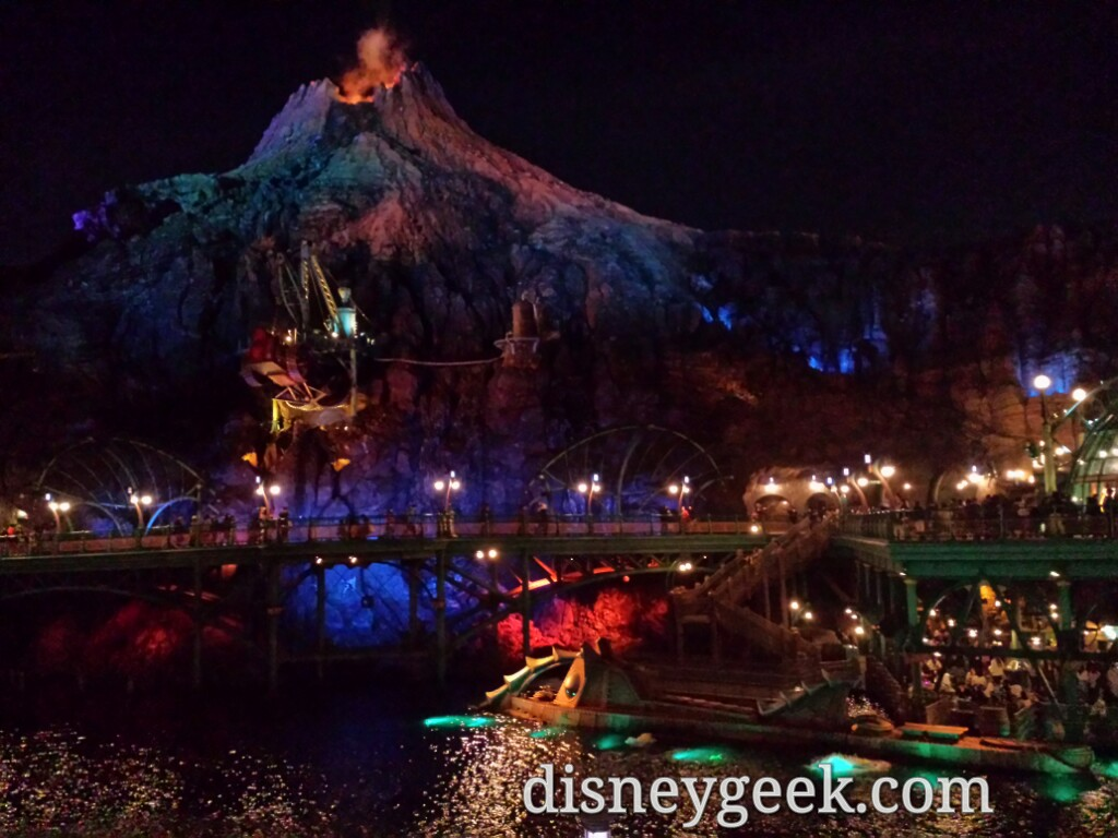 Tokyo DisneySea - Walking through Mysterious Island