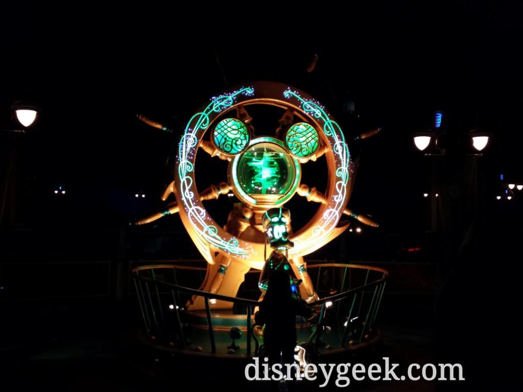 Tokyo DisneySea - The green crystal in Mysterious Island.