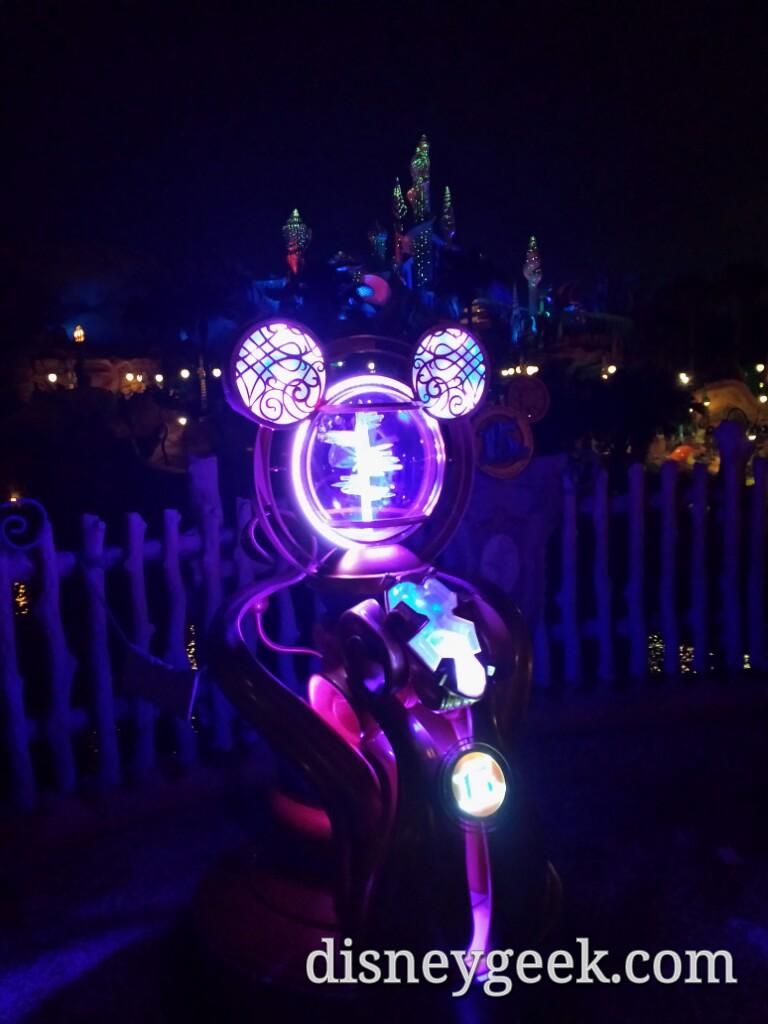 Tokyo DisneySea - A crystal near Mermaid Lagoon.