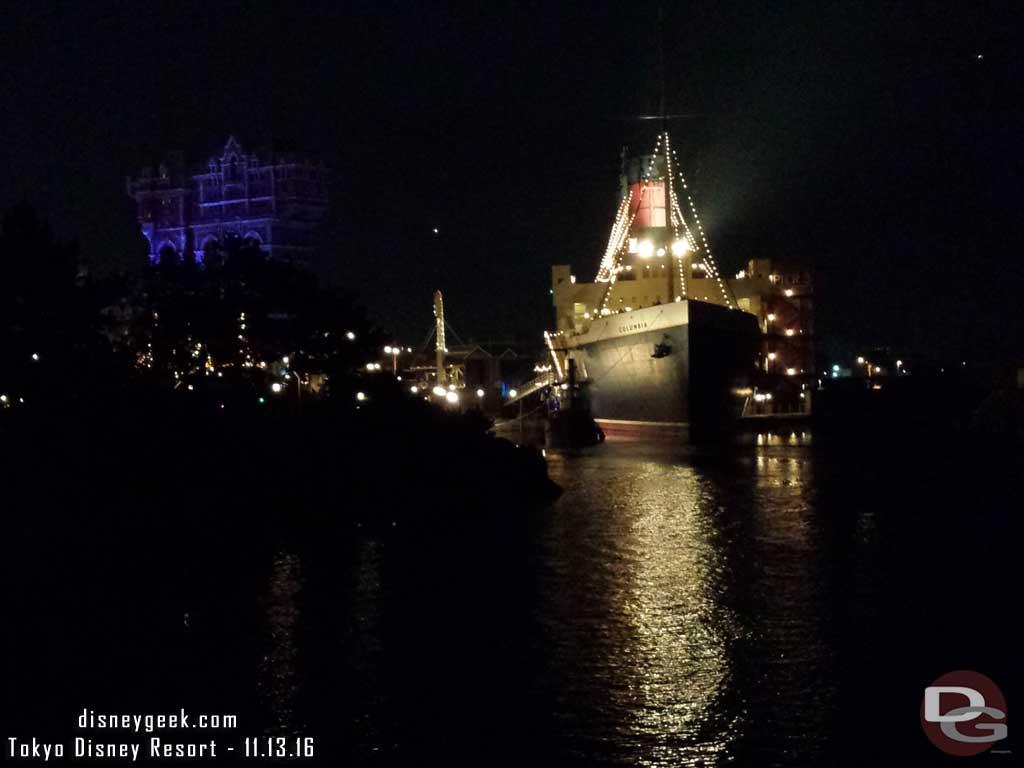 Tokyo DisneySea - SS Columbia
