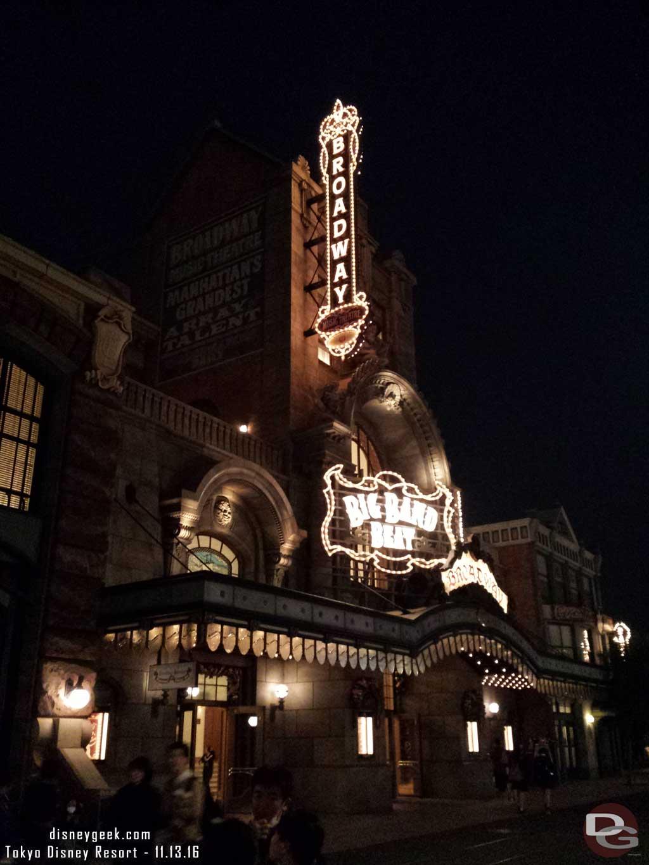Tokyo DisneySea - Big Band Beat Theater.