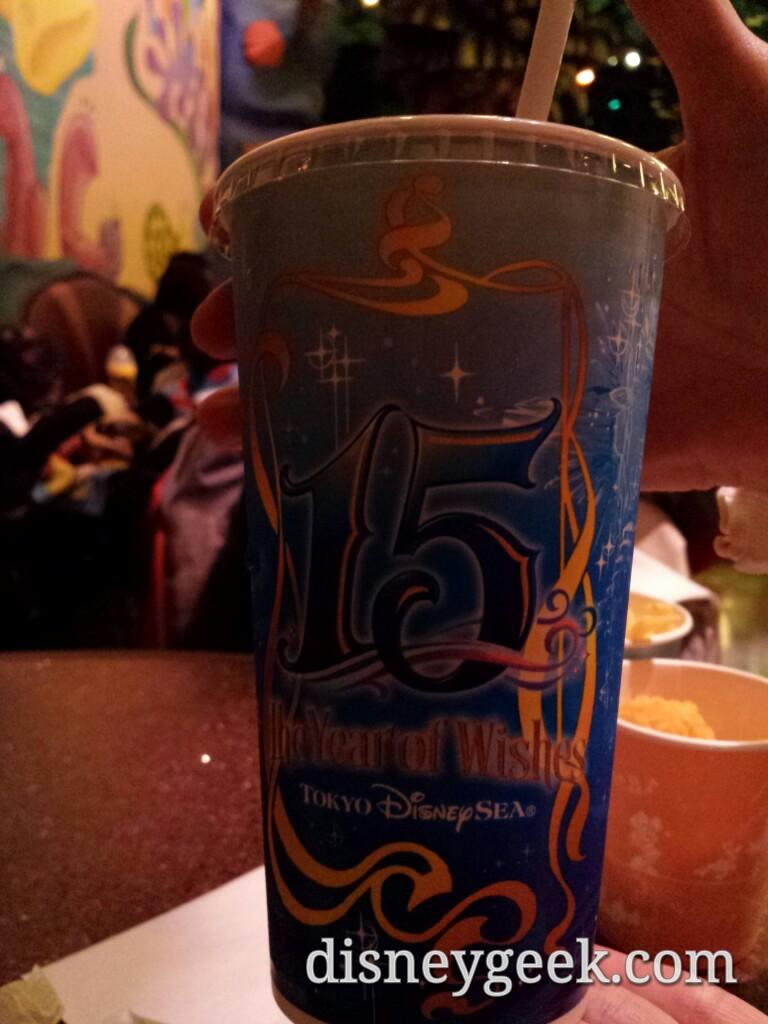 Tokyo DisneySea - 15th Anniversary Cup