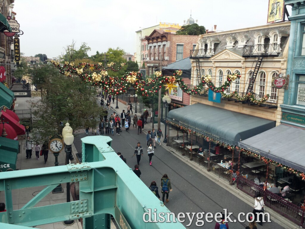 Tokyo DisneySea - American Waterfront from the railway