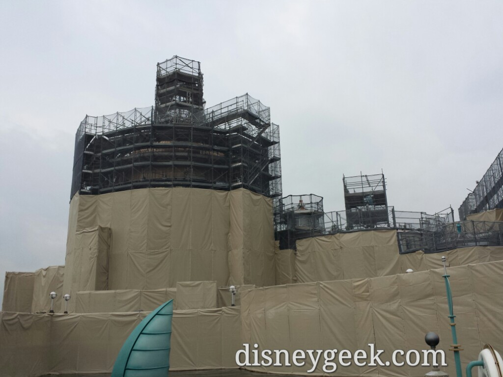 Tokyo DisneySea - Current state of the Stormrider conversion to Finding Nemo