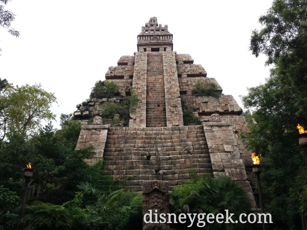 Tokyo DisneySea - Indiana Jone Temple