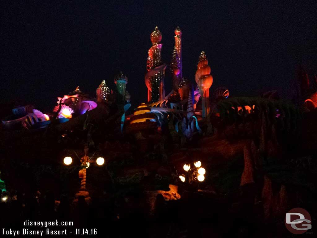 Tokyo DisneySea - Mermaid Lagoon at Night