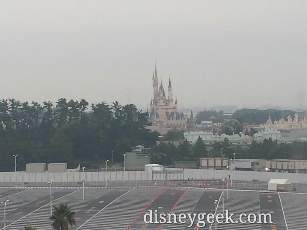 Tokyo Disneyland From the Sheraton
