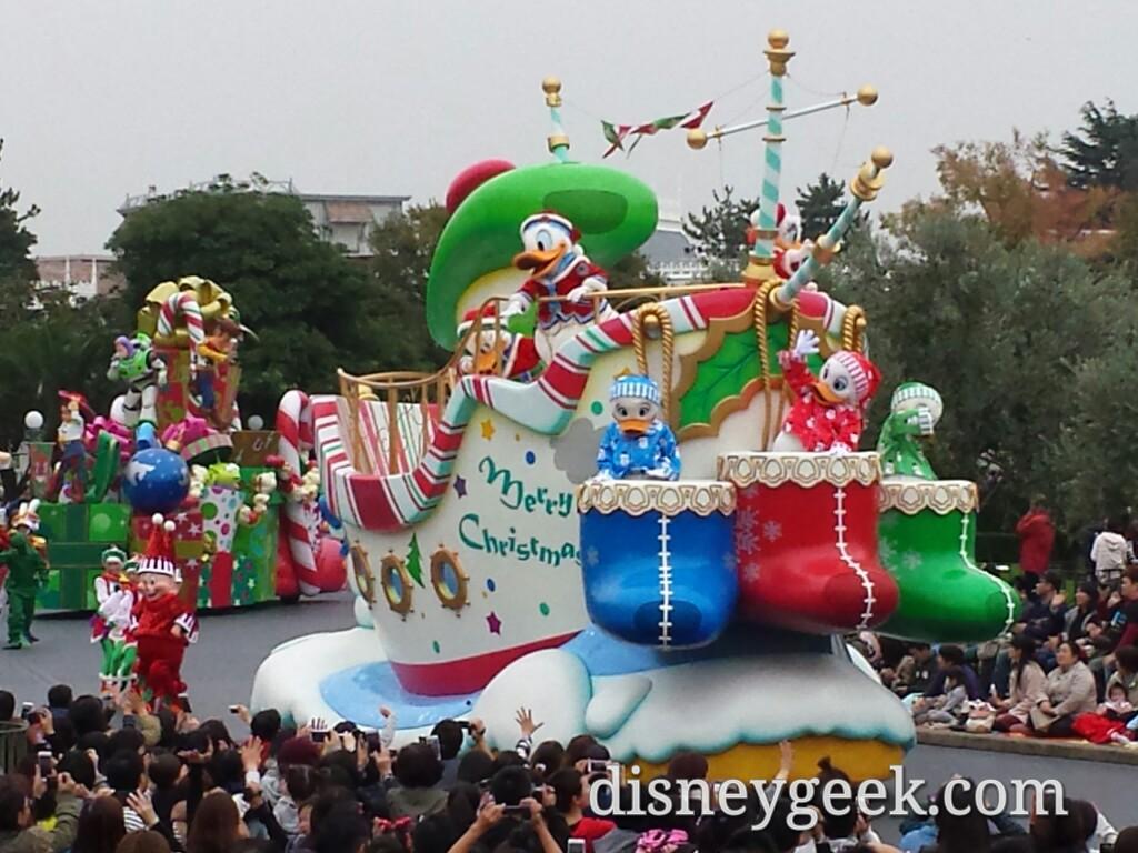 Tokyo Disneyland - Disney Christmas Stories