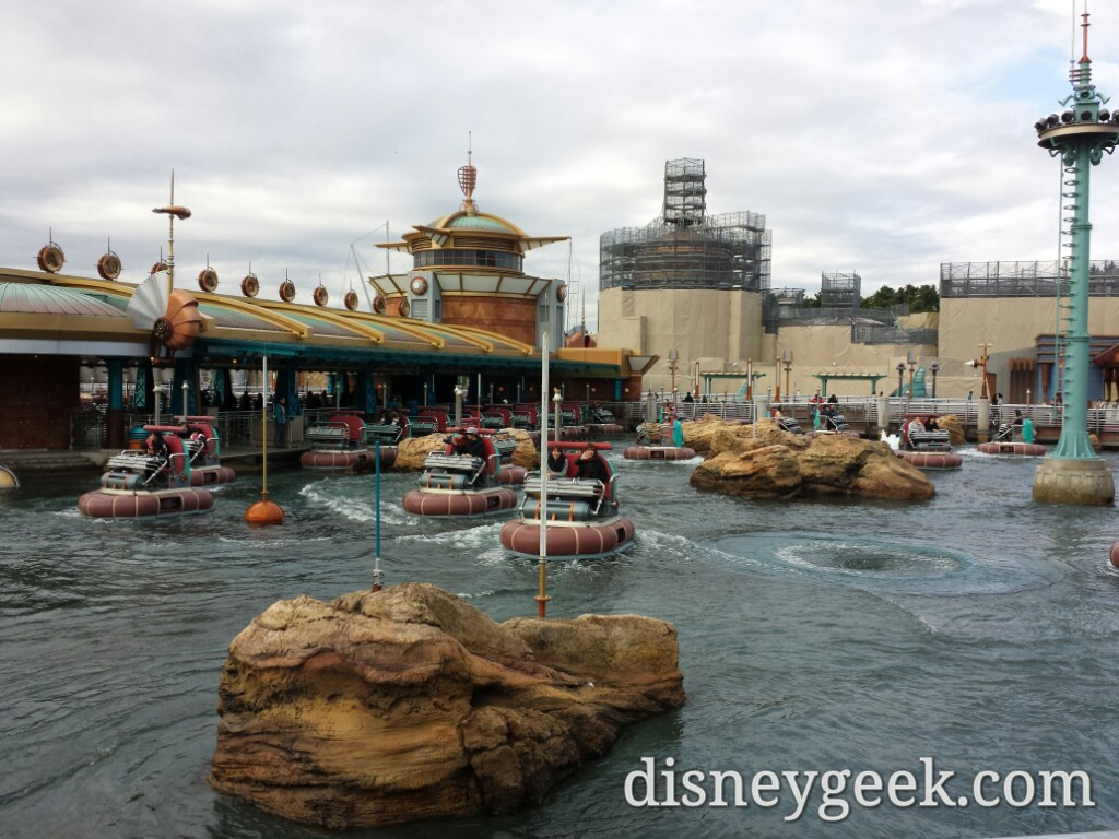 Tokyo DisneySea - Instead walked onto Aquatopia.