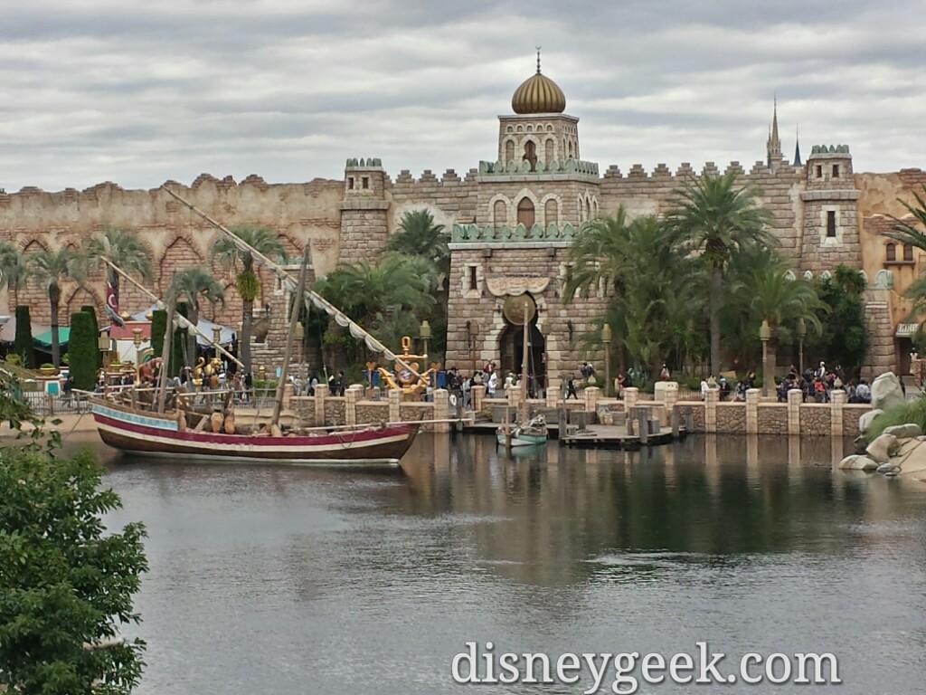 Tokyo DisneySea - The Arabian Coast at Tokyo DisneySea