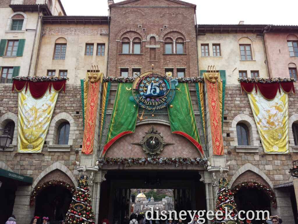 Tokyo Disney Sea - Christmas Wishes Decorations