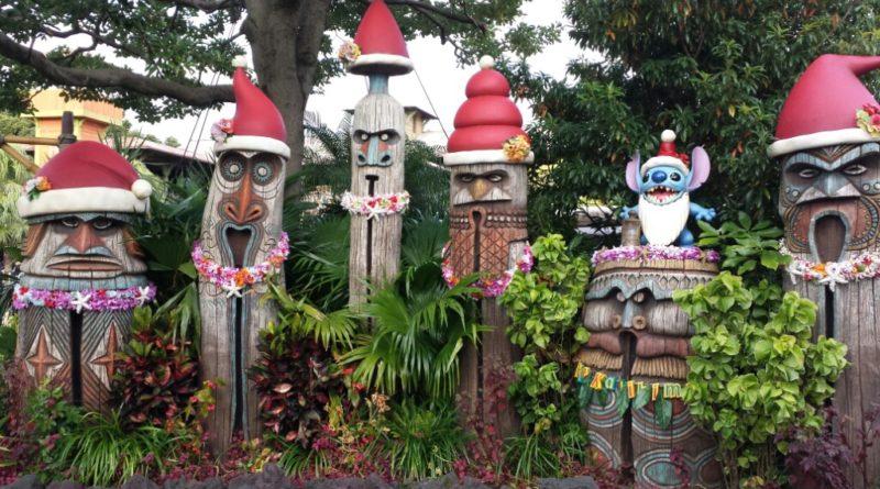 Tokyo Disneyland - Santa Tikis in Adventureland