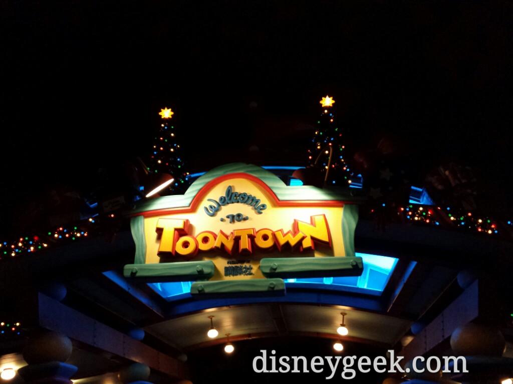 Tokyo Disneyland - Toontown Entrance
