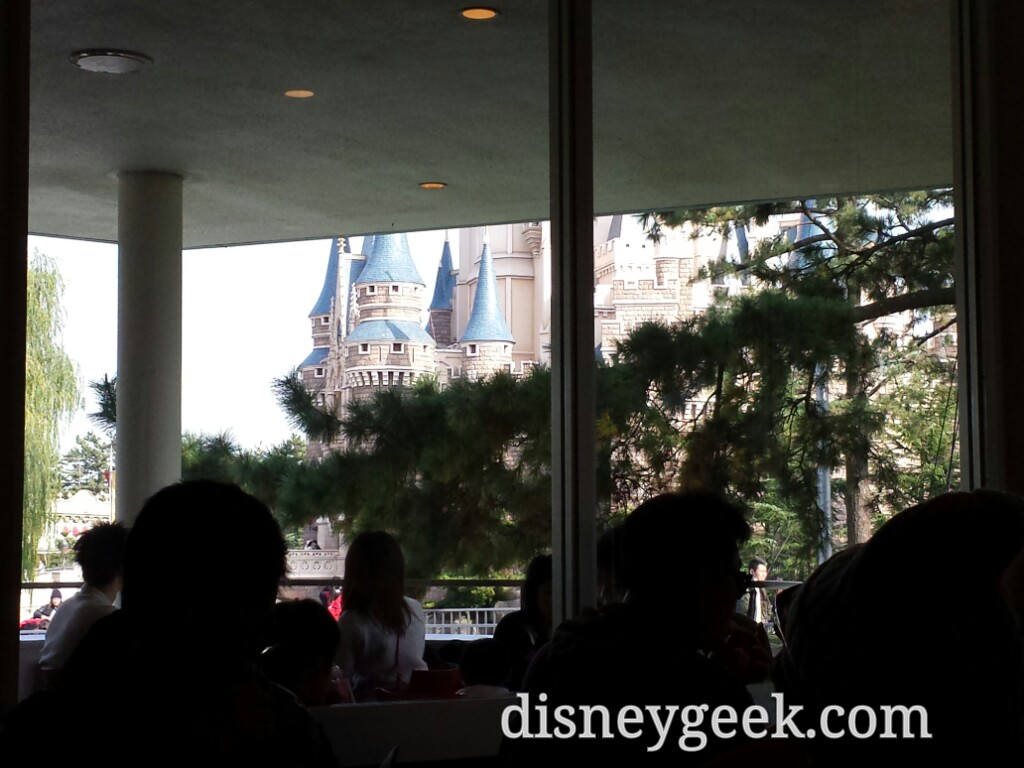 Tokyo Disneyland - Cinderella Castle from Tomorrowland Terrace