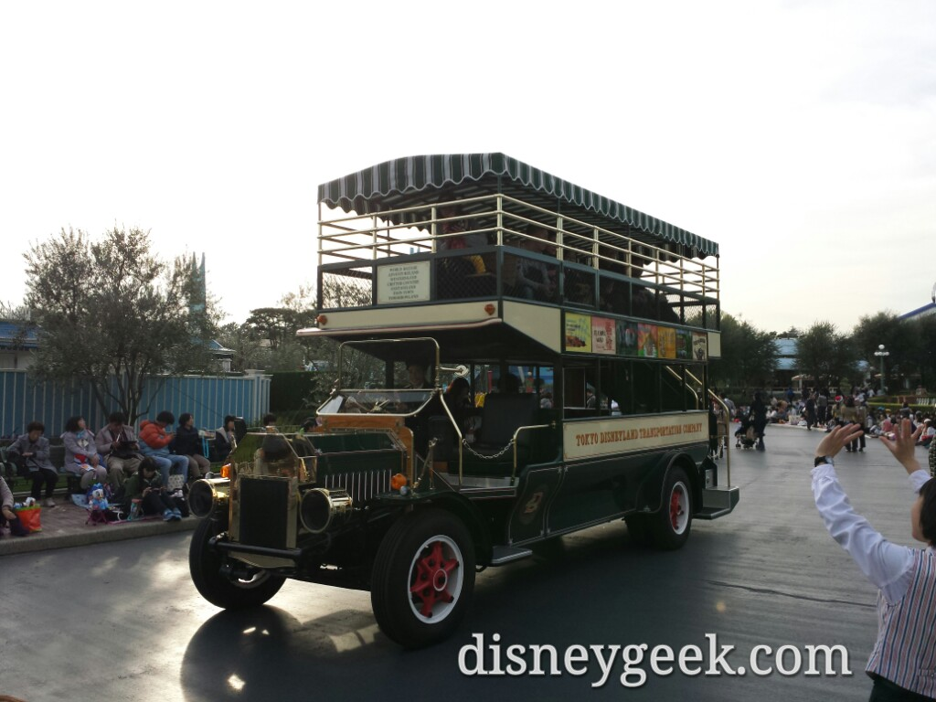 Tokyo Disneyland - Omni Bus in the Central Plaza