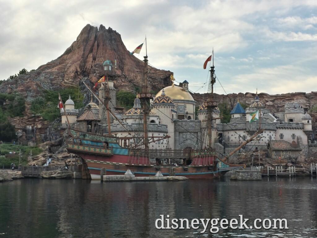 Tokyo DisneySea - Fortress Exploration & Mt. Prometheus