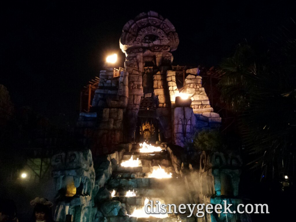 Tokyo DisneySea - Raging Spirits