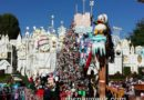 A Christmas Fantasy parade at #Disneyland