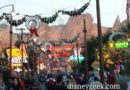 #CarsLand lights were just coming on for the evening as I passed by