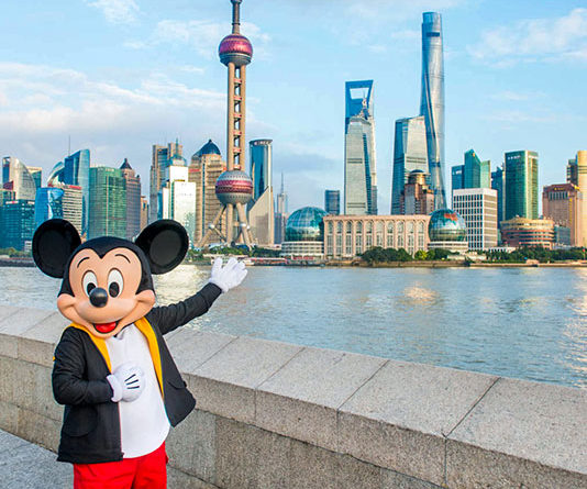 2016 mickey mouse shanghai