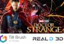 Doctor Strange – Google Tilt Brush Artists Create Global VR Painting Experiment