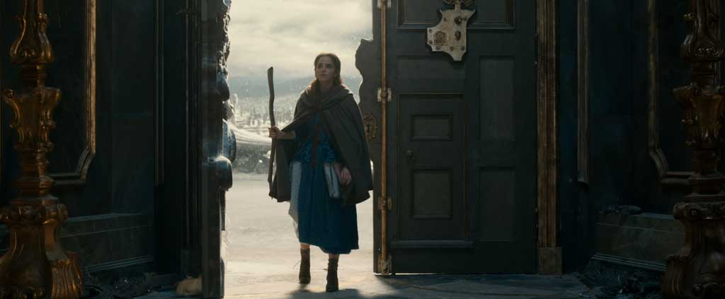 Belle (Emma Watson) in Disney's BEAUTY AND THE BEAST, a live-action adaptation of the studio's animated classic directed by Bill Condon.