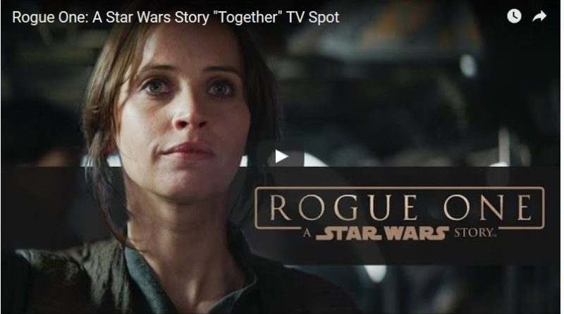 Rogue One A Star Wars Story TV Spot