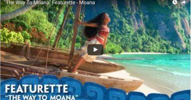 Moana Featurette