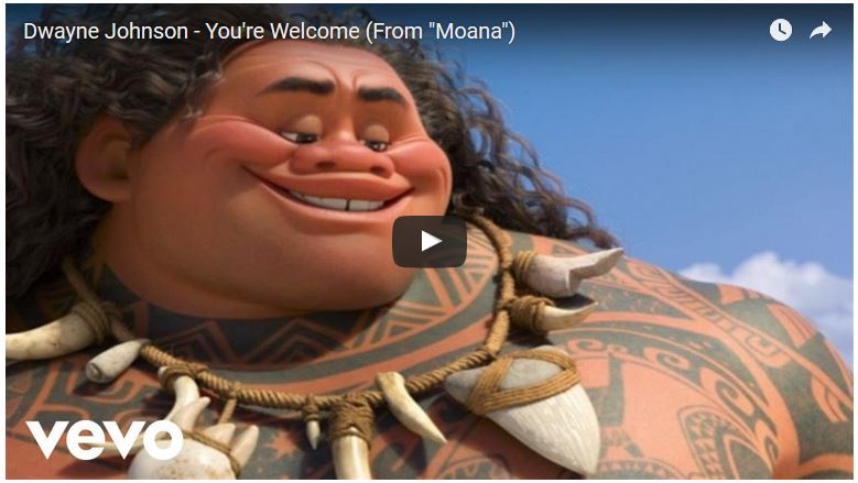 "You're Welcome (From ""Moana"")"