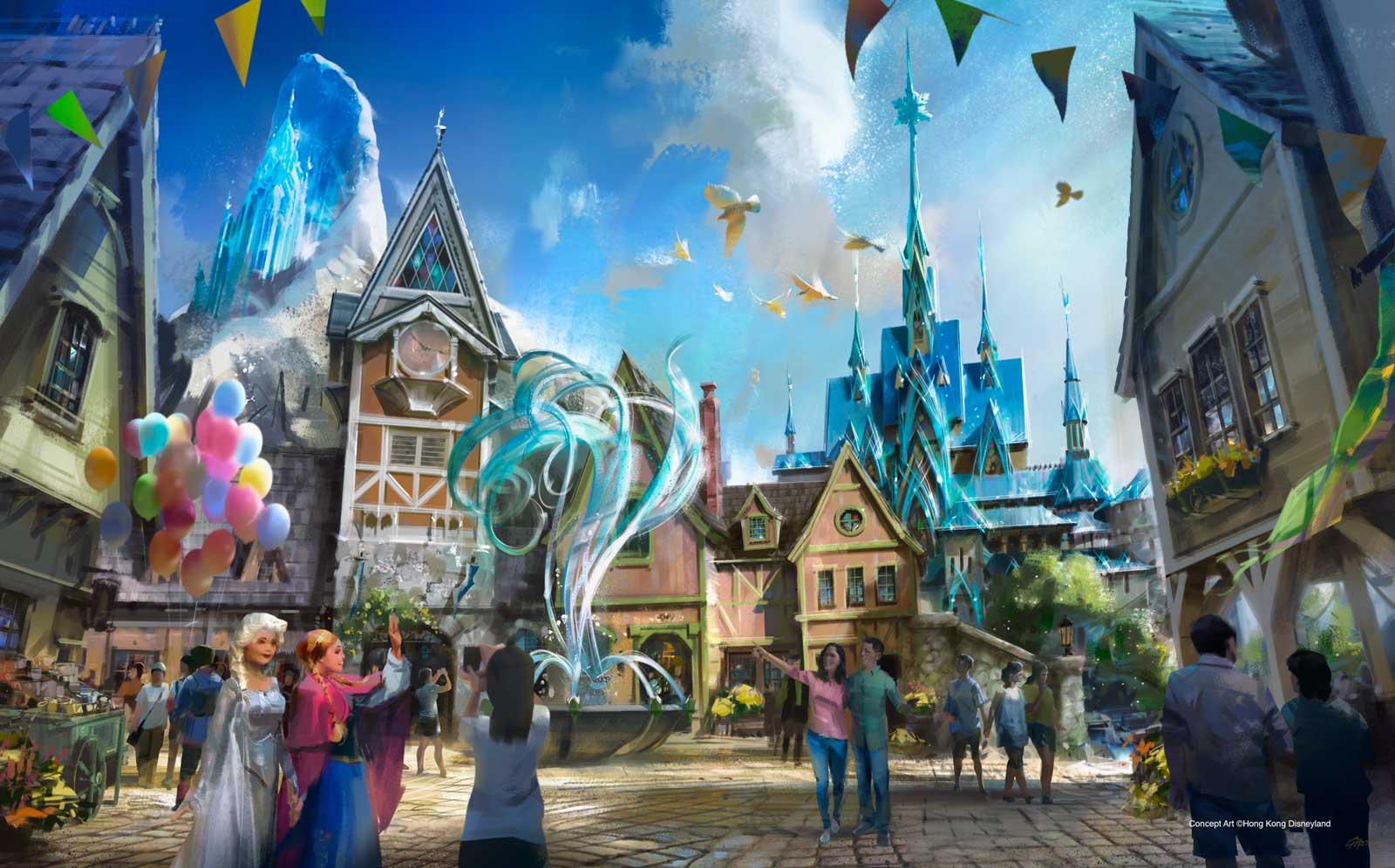 Hong Kong Disneyland - frozen_kingdom-of-arendelle