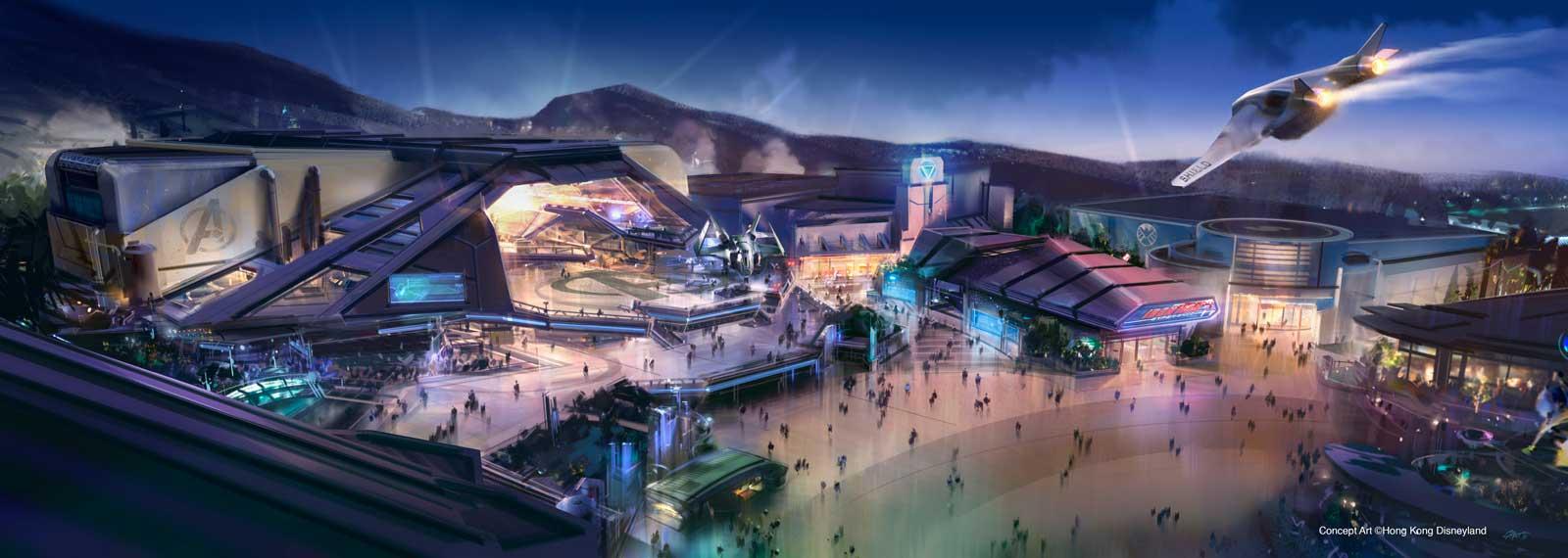 Hong Kong Disneyland Expansion - Marvel