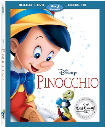 Pinocchio Signature Edition Blu-ray