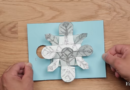 Frozen-inspired DIY Snowflake Card (Video)