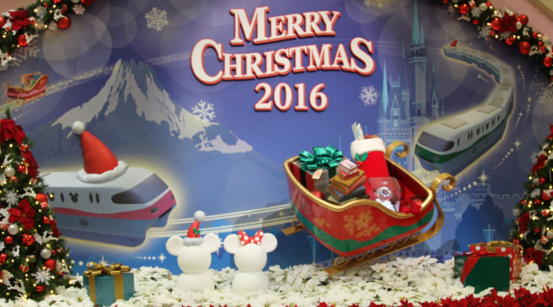 Tokyo Monorail Christmas Featured