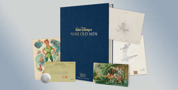 walt disney s nine old men There are nine flip books inside this box that pays tribute to disney's early animators legendary animators ub iwerks, norm ferguson, billl tytla, ham luske, art babbitt, grim gatwick, freddie moore, hal king, and john sibley are featured.